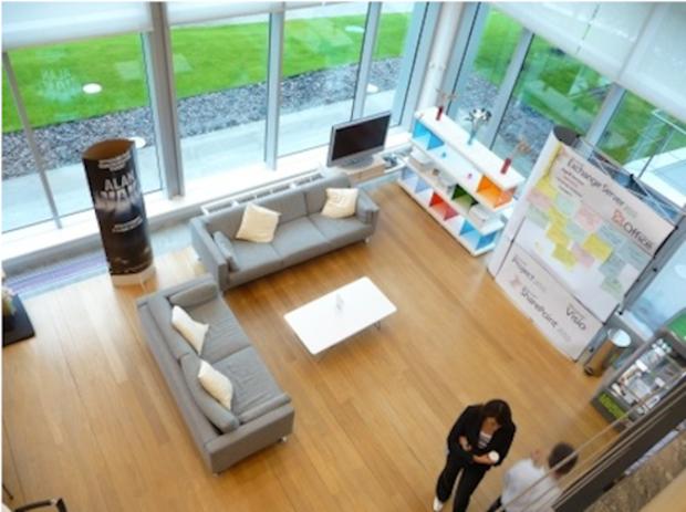 Фотография: Гостиная в стиле Современный, Офисное пространство, Индустрия, Люди – фото на InMyRoom.ru
