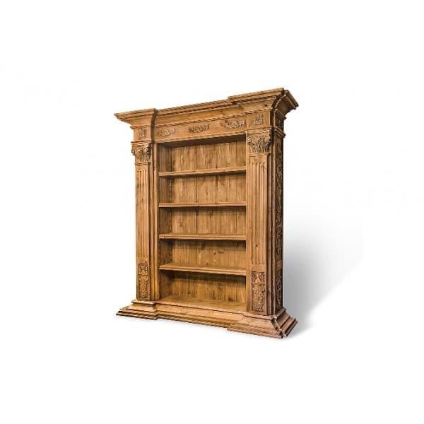 Шкаф книжный герт из массива сосны