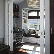 Фотография: Кабинет в стиле Скандинавский, Декор интерьера, DIY, Декор дома, Системы хранения – фото на InMyRoom.ru
