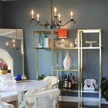 Фотография: Кухня и столовая в стиле Эклектика, Дом, Дома и квартиры, Ретро, Плитка, Ар-деко, Лос-Анджелес – фото на InMyRoom.ru