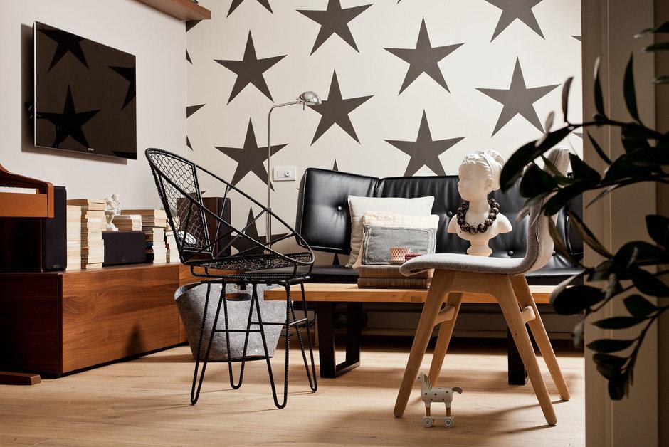 Фотография: Гостиная в стиле Лофт, Квартира, BoConcept, Дома и квартиры, IKEA – фото на InMyRoom.ru