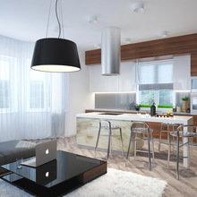 Фото из портфолио Проект загородного дома для молодой семьи – фотографии дизайна интерьеров на InMyRoom.ru