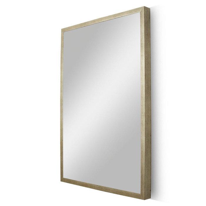 "Зеркало в узкой светлой раме ""Гамбург"""