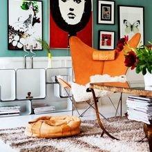Фото из портфолио Гостиная в ярких тонах: идеи контрастных интерьеров – фотографии дизайна интерьеров на INMYROOM