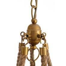 Подвесная металлическая люстра Arte Lamp Amaca