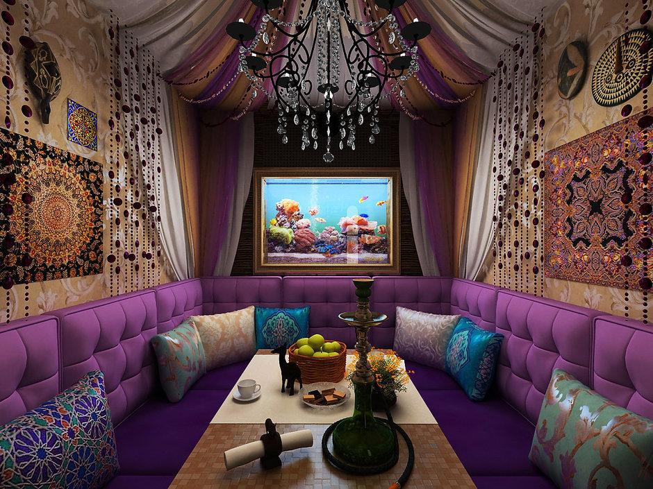 Фотография: Кухня и столовая в стиле Восточный, Декор интерьера, Дизайн интерьера, Цвет в интерьере, Dulux, ColourFutures – фото на InMyRoom.ru