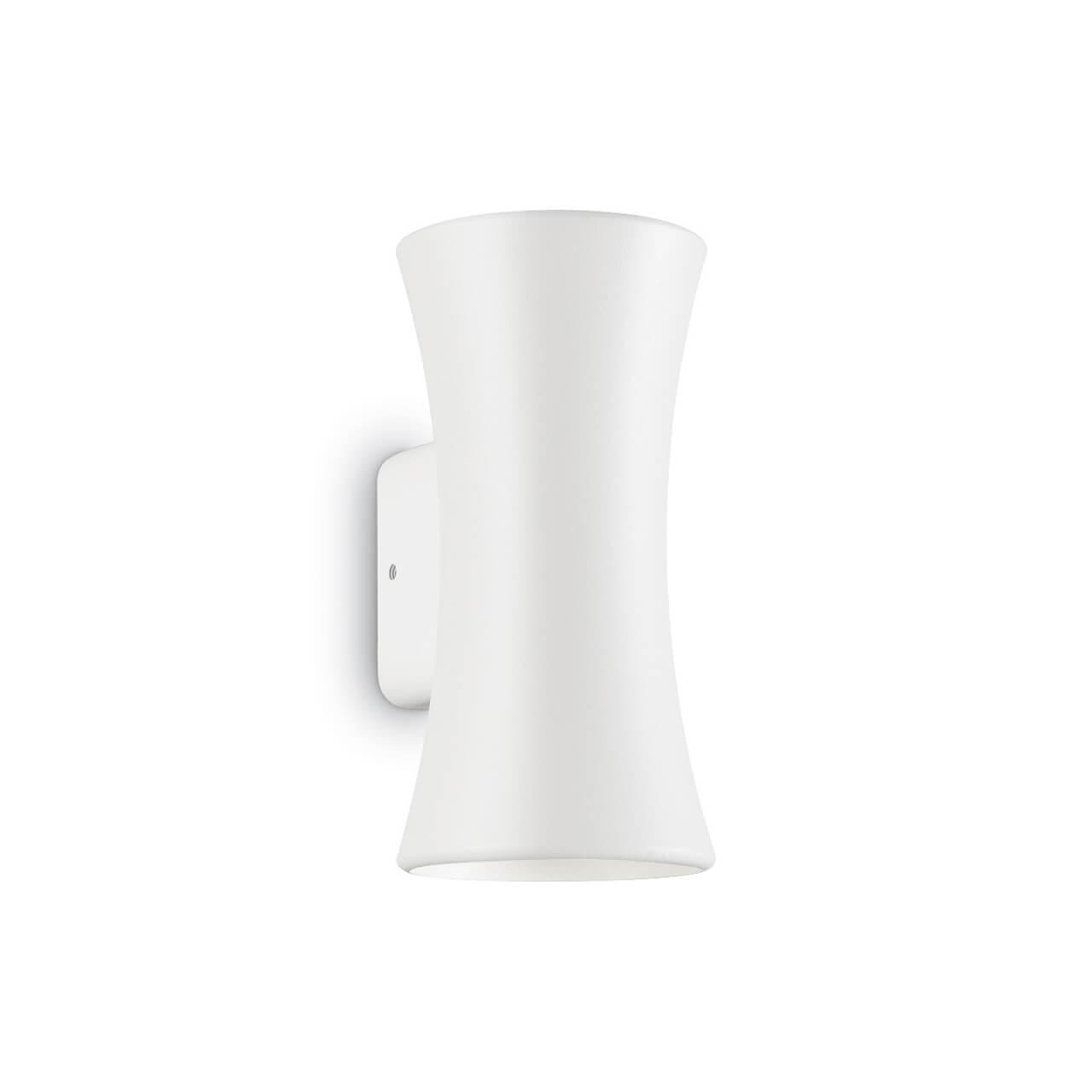Уличный настенный светодиодный светильник Ideal Lux Lab  Bianco