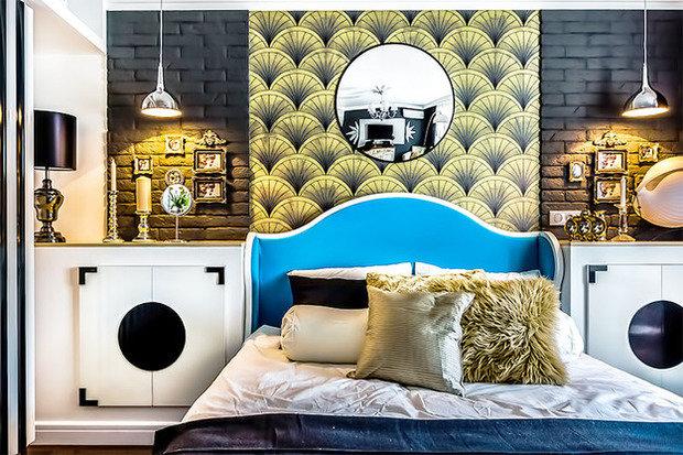 Фотография: Гостиная в стиле Восточный, Спальня, Декор интерьера, Интерьер комнат, Ар-деко – фото на InMyRoom.ru