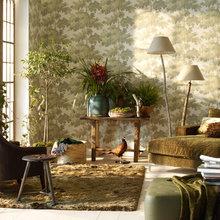 Фотография: Гостиная в стиле Кантри, Декор интерьера, Дом, Цвет в интерьере, Дома и квартиры, Синий – фото на InMyRoom.ru