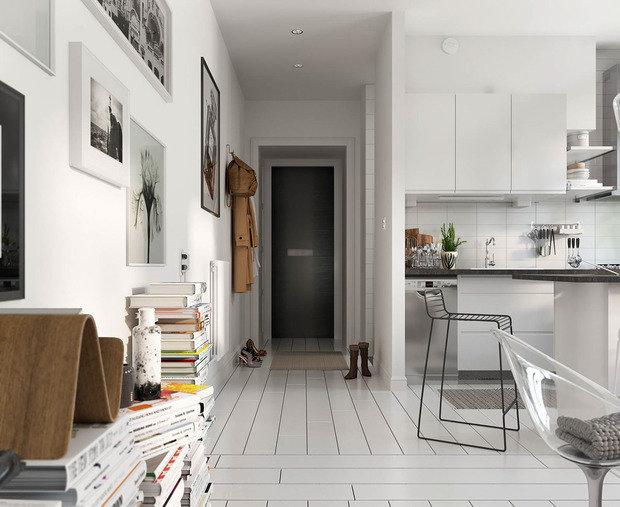 Фотография: Прихожая в стиле Скандинавский, Декор интерьера, уют дома, скандинавский стиль в интерьере, хюгге – фото на INMYROOM