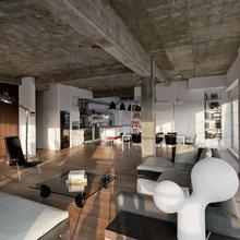 Фото из портфолио Трансформация ГАРАЖА в стильную студию в Лондоне – фотографии дизайна интерьеров на INMYROOM