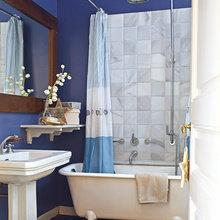 Фотография: Ванная в стиле , Эклектика, Декор интерьера, Квартира, Дом, Праздник, Дома и квартиры – фото на InMyRoom.ru