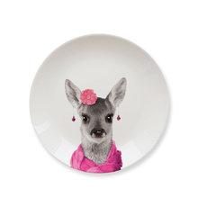 Обеденная тарелка baby deer