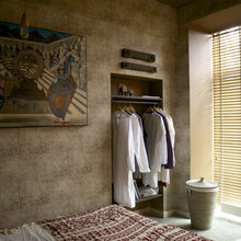 Фотография: Спальня в стиле Кантри, Восточный, Эклектика, Проект недели, Эко – фото на InMyRoom.ru