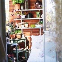 Фотография: Балкон в стиле Кантри, Декор интерьера, Квартира, Интерьер комнат – фото на InMyRoom.ru