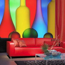 Фотография: Гостиная в стиле Современный, Детская, Спальня, Декор интерьера, Декор дома, Обои, Фотообои – фото на InMyRoom.ru