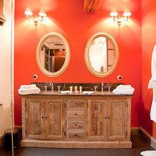 Фотография: Ванная в стиле Кантри, Франция, Дома и квартиры, Городские места, Отель, Прованс – фото на InMyRoom.ru