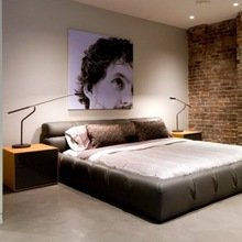 Фотография: Спальня в стиле Лофт, Современный – фото на InMyRoom.ru