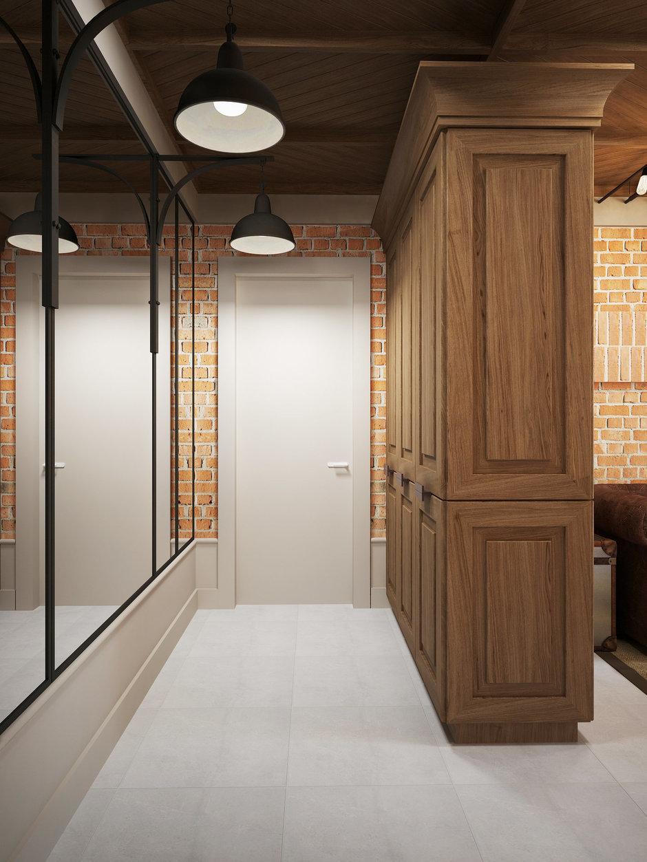 Фотография: Прихожая в стиле Лофт, Квартира, Планировки, Проект недели, Сталинка – фото на InMyRoom.ru