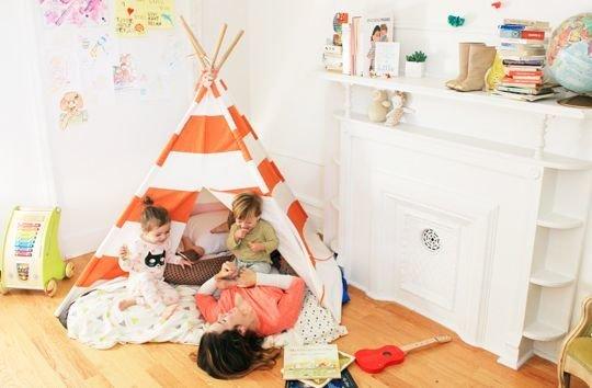 Фотография: Спальня в стиле , Детская, Интерьер комнат – фото на InMyRoom.ru