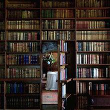 Фотография:  в стиле Классический, Современный, Системы хранения, Библиотека, Домашняя библиотека – фото на InMyRoom.ru