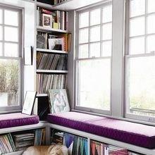 Фотография: Прочее в стиле Кантри, Декор интерьера, Декор, Домашняя библиотека, как разместить книги в интерьере, книги в интерьере – фото на InMyRoom.ru