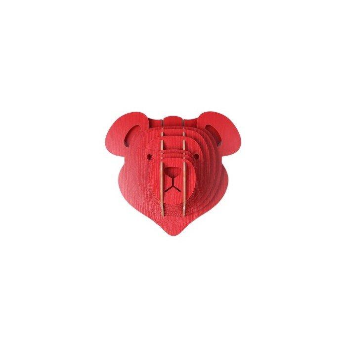 Декор голова медведя