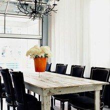 Фотография: Кухня и столовая в стиле Скандинавский, Обеденная зона – фото на InMyRoom.ru