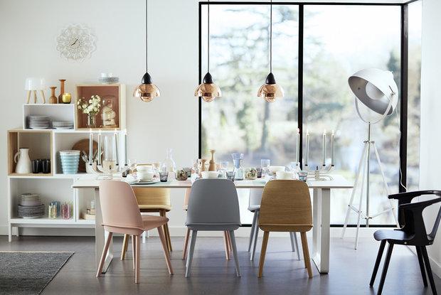 Фотография: Кухня и столовая в стиле Лофт, Скандинавский, Современный, Декор интерьера, Дизайн интерьера, Цвет в интерьере, Белый – фото на InMyRoom.ru