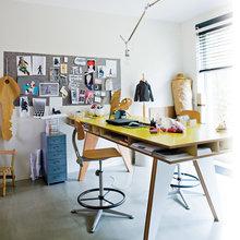 Фото из портфолио Швейный уголок: примеры удачного формирования и зонирования рабочего пространства – фотографии дизайна интерьеров на InMyRoom.ru