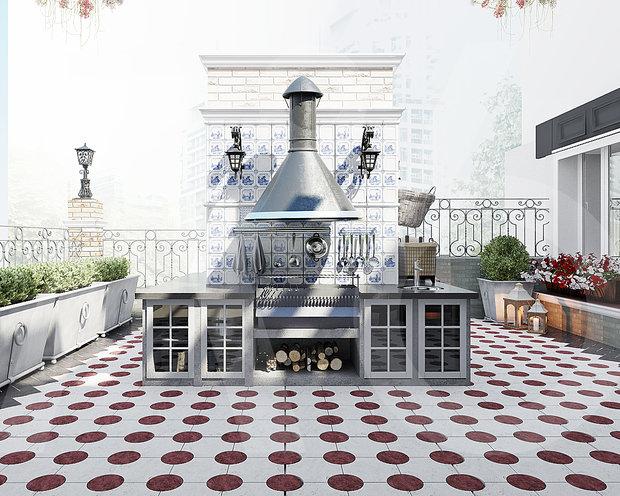 Фото из портфолио Дизайн-проект пентхауса г. Самара – фотографии дизайна интерьеров на INMYROOM