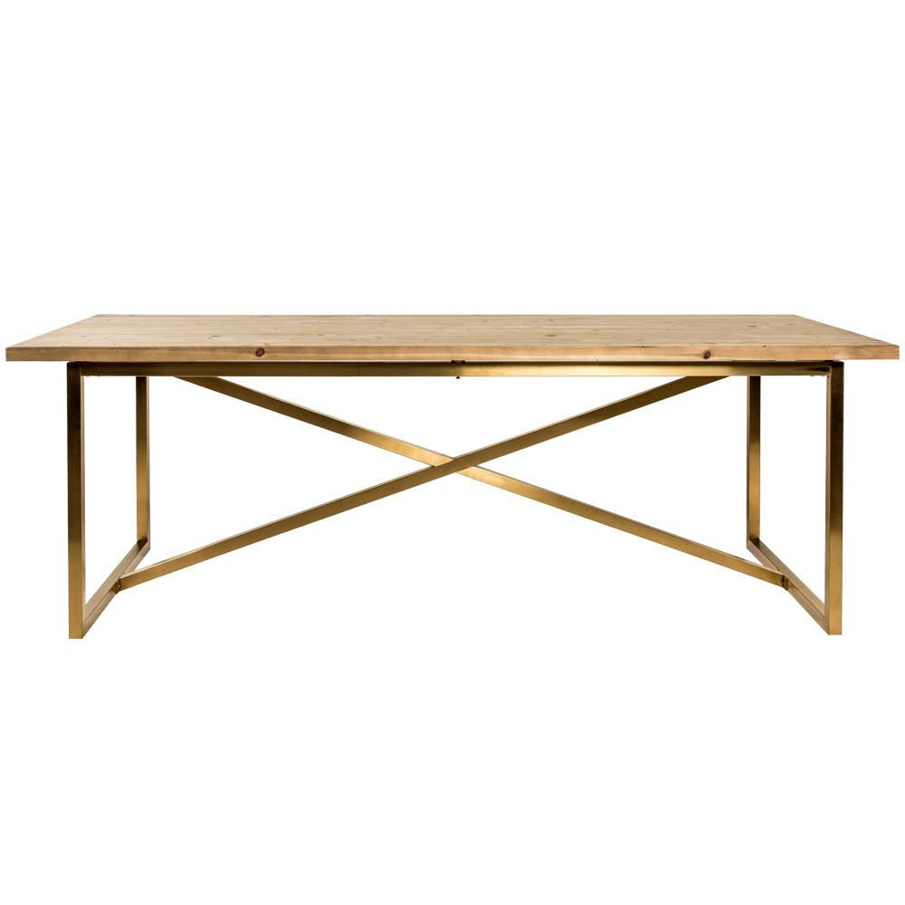 Купить Обеденный стол мэтр из массива ели, inmyroom, Россия