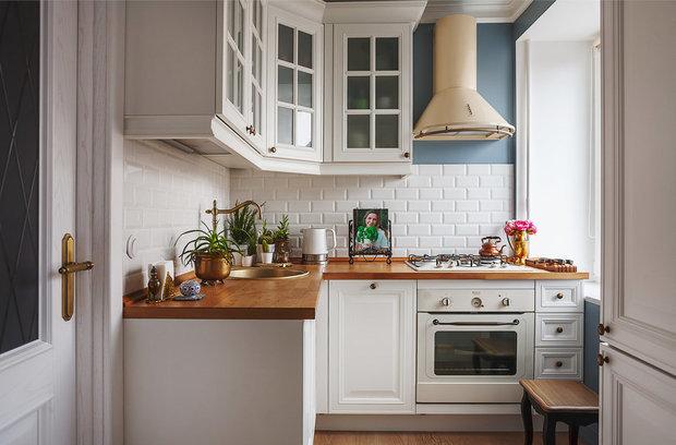 Фотография: Кухня и столовая в стиле Классический, Квартира, Гид, Герой InMyRoom – фото на InMyRoom.ru