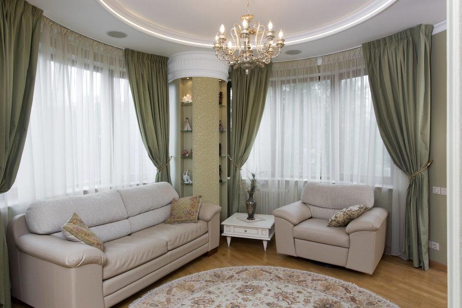 Фотография: Гостиная в стиле Классический, Квартира, Дома и квартиры, Проект недели – фото на InMyRoom.ru