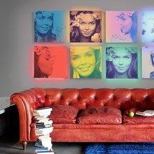 Фото из портфолио Pop-art портрет по фото в стиле Э. Уорхола – фотографии дизайна интерьеров на INMYROOM