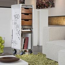 Фотография: Гостиная в стиле Лофт, Эко, Декор интерьера, DIY, Переделка – фото на InMyRoom.ru
