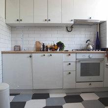 Фотография: Кухня и столовая в стиле Скандинавский, Квартира, Проект недели, двухкомнатная квартира, Герой InMyRoom, Казахстан, хрущевка – фото на InMyRoom.ru