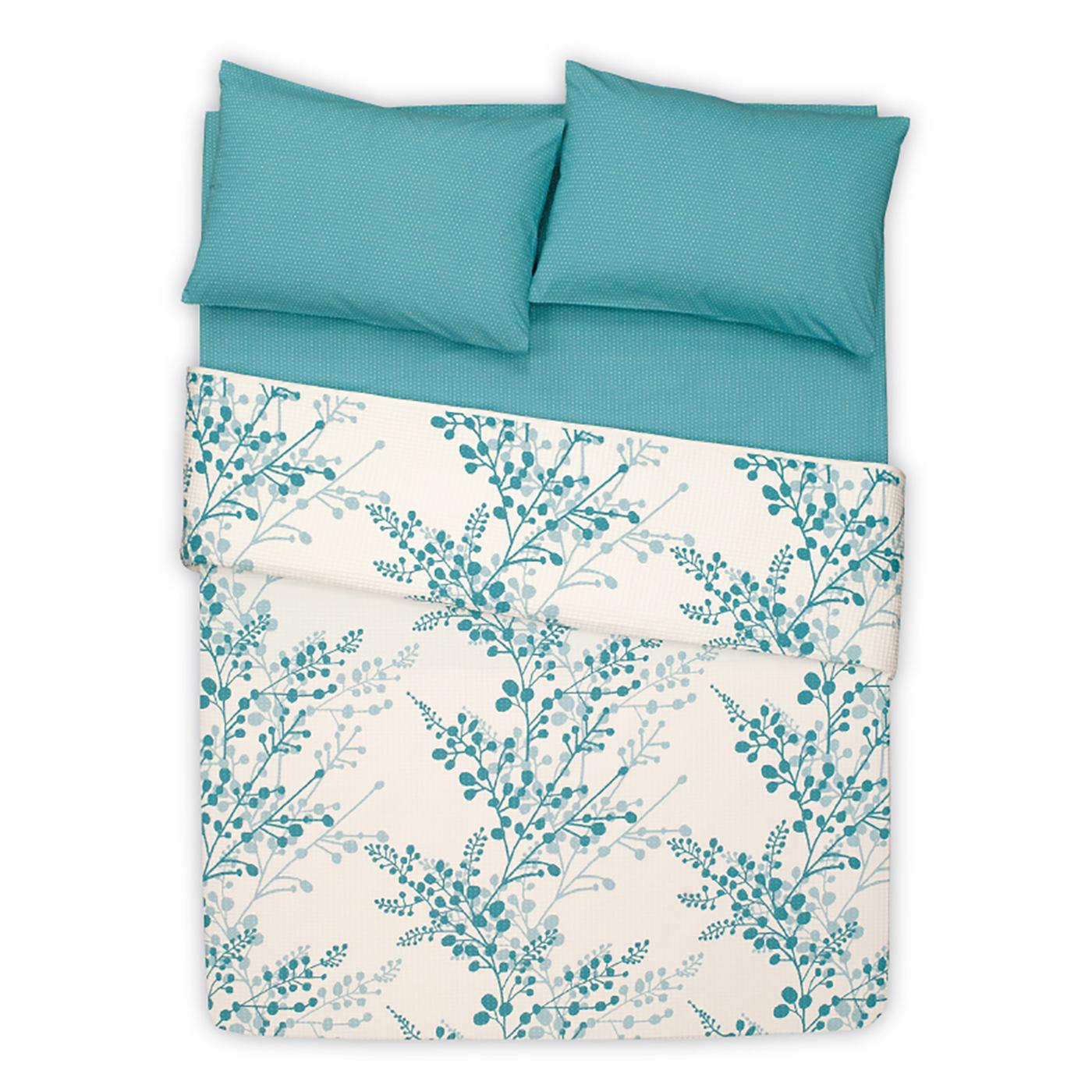 Купить Комплект постельного белья Twings Turquoise Euro, inmyroom, Турция