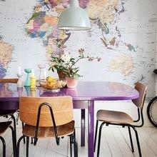 Фотография: Кухня и столовая в стиле Лофт, Кабинет, Интерьер комнат – фото на InMyRoom.ru