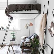 Фотография: Гостиная в стиле Скандинавский, Спальня, Советы – фото на InMyRoom.ru