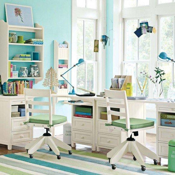 Фотография:  в стиле , Детская, Советы, Metro, рабочая зона в детской, как обустроить комнату для школьника, интерьер для школьника, дизайн детской для школьника – фото на InMyRoom.ru
