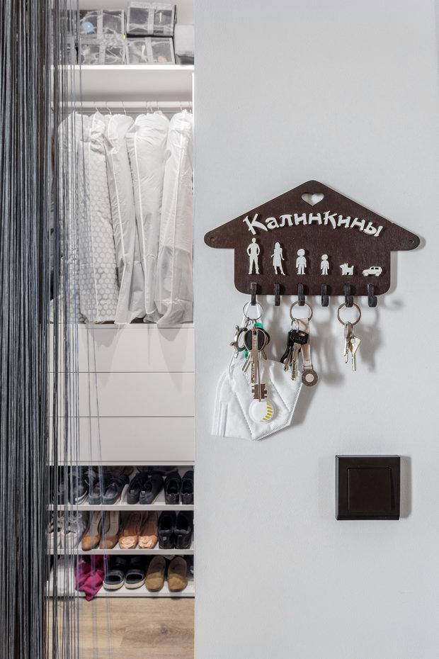 Фотография: Прихожая в стиле Современный, Квартира, Проект недели, Москва, 4 и больше, 60-90 метров, Спецпроект – фото на INMYROOM