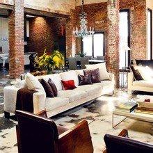 Фотография: Гостиная в стиле Кантри, Классический, Лофт, Современный – фото на InMyRoom.ru