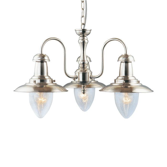 Подвесная люстра ARTE LAMP FISHERMAN в кантри-стиле