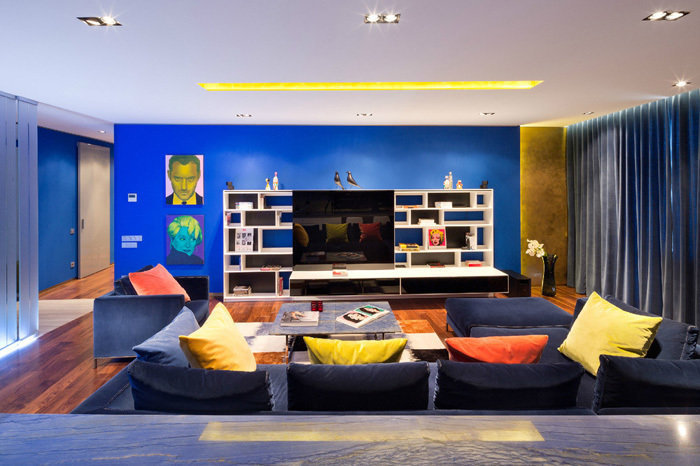 Фотография: Гостиная в стиле Современный, Квартира, Дома и квартиры, Минимализм – фото на InMyRoom.ru