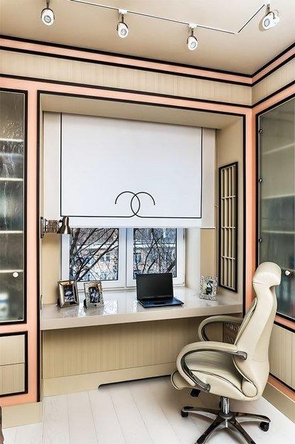 Фотография: Кабинет в стиле Прованс и Кантри, Интерьер комнат – фото на InMyRoom.ru
