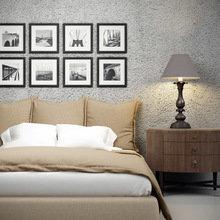 Фотография: Спальня в стиле Кантри, Декор интерьера, Декор дома, Цвет в интерьере, Постеры – фото на InMyRoom.ru