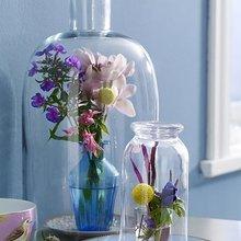 Фото из портфолио Коллекция ваз из стекла для интерьера,цветов  а так же напольные вазы из богемного стекла с Византийским шиком  – фотографии дизайна интерьеров на InMyRoom.ru