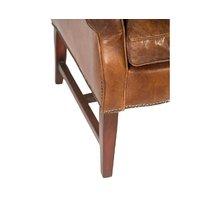 Кресло из кожи Вальбонн