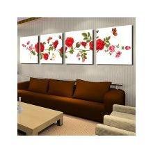 Дизайнерская картина на холсте: Красные розы